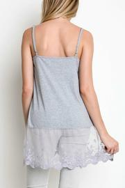 Umgee USA Lace For Days Tank - Front full body