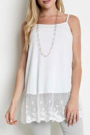 Umgee USA Lace For Days Tank - Front cropped