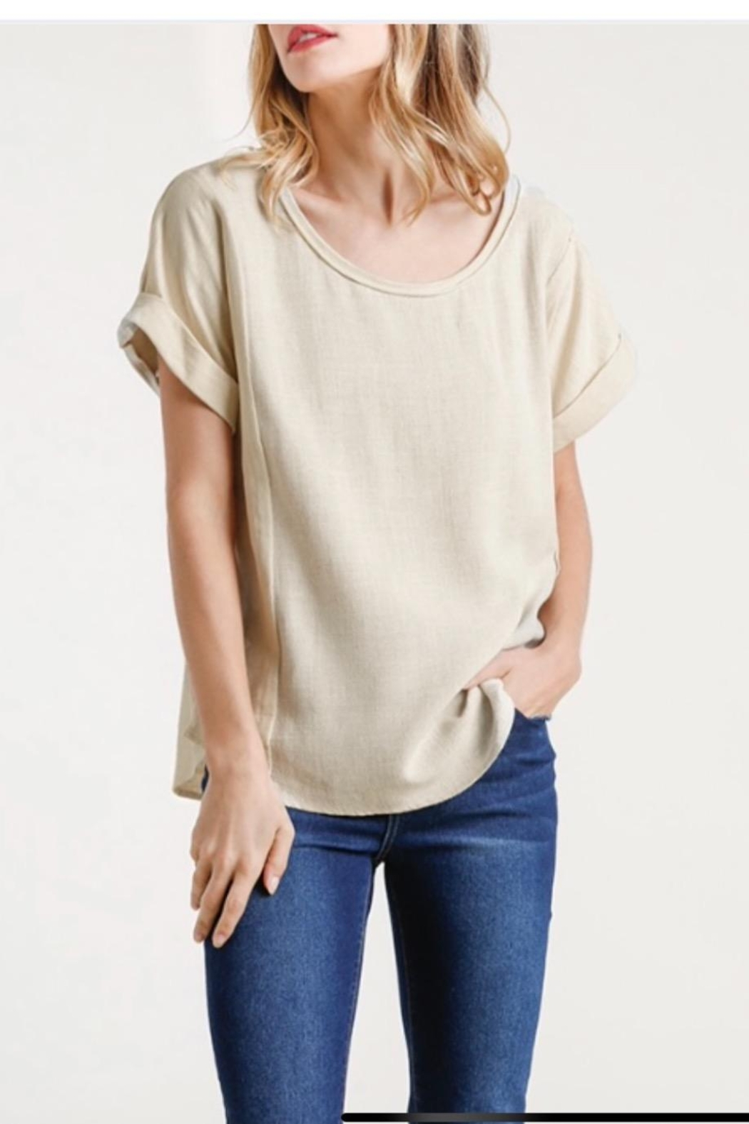 Umgee Linen Pullover - Main Image
