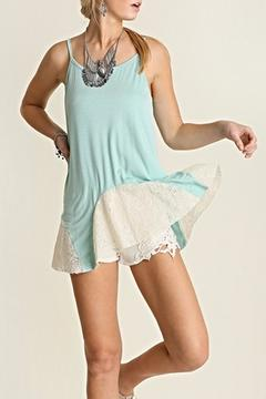 Shoptiques Product: Mint Lace Tank