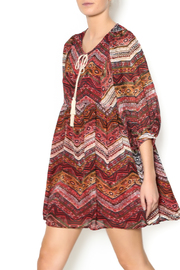 Umgee USA Mixed Tassel Dress - Product Mini Image
