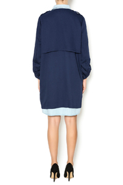 Umgee USA Navy Trench - Side cropped