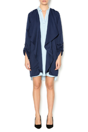 Umgee USA Navy Trench - Front full body