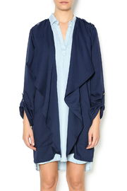 Umgee USA Navy Trench - Front cropped