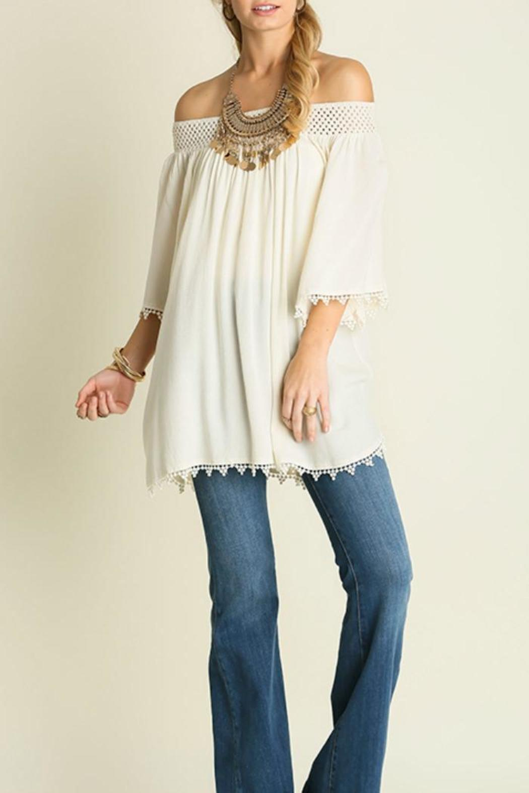 Umgee USA Off The Shoulder - Front Cropped Image