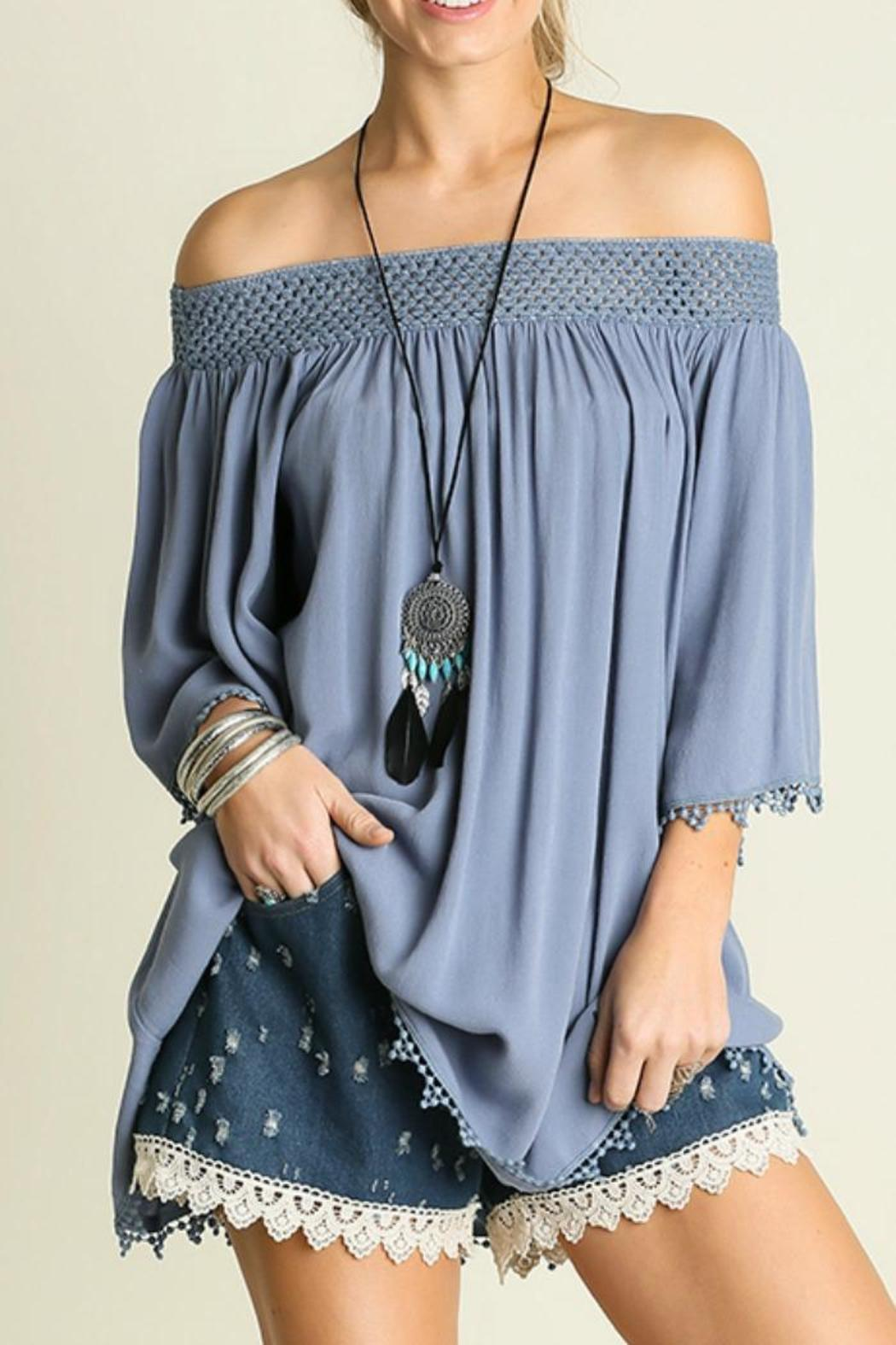 abe15471ee556 Umgee USA Off The Shoulder Top from Franklin by Adalees — Shoptiques