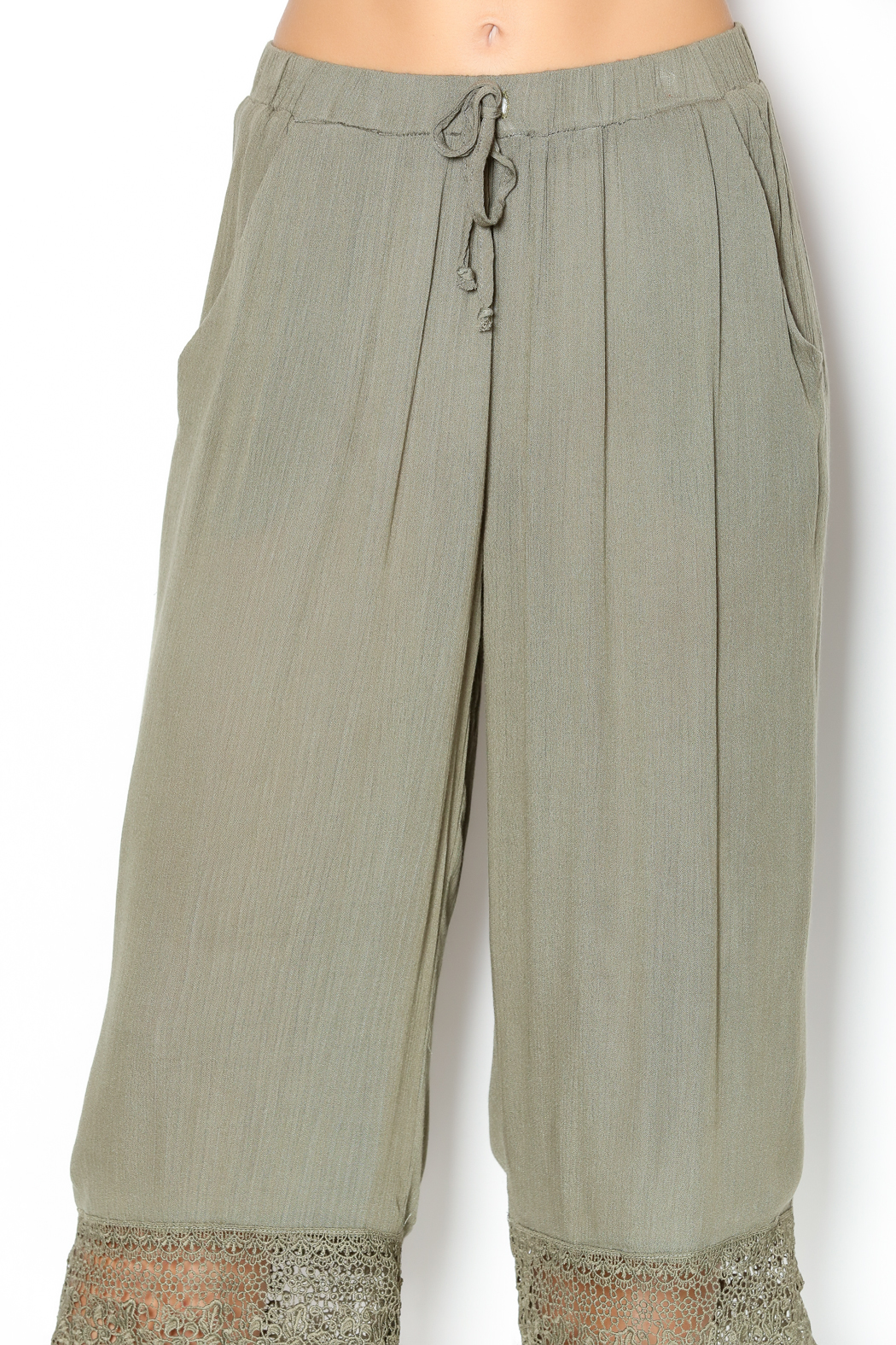 Umgee USA Olive Capri Pants from Kentucky by Lennon & Lace ...
