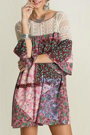 Shoptiques Product: Paisley Patchwork Dress