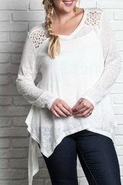 Umgee USA Plus Knit Top - Product Mini Image