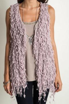 Shoptiques Product: Shaggy Sleeveless Vest