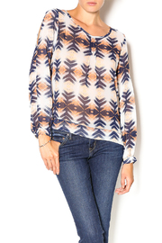 Umgee USA Sierra Nevada Blouse - Front cropped