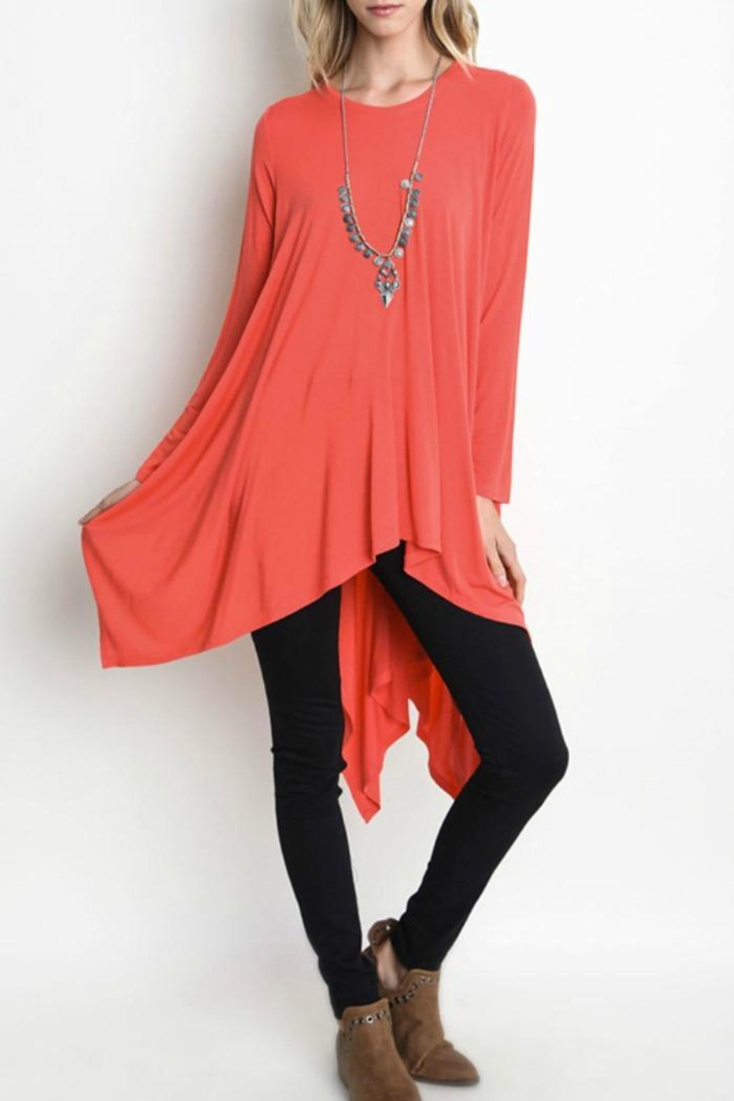 Umgee USA Trapeze Tunic Top - Main Image