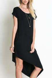 Umgee USA Two-Toned Asymmetrical Dress - Product Mini Image