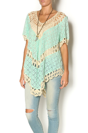 Umgee U.S.A. + Crochet Lace Top - Product Mini Image