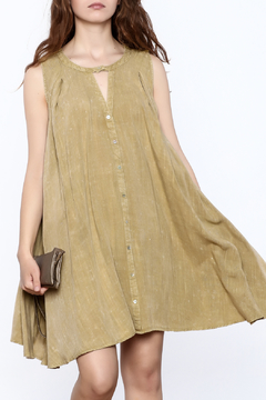 Shoptiques Product: Green A Line Dress