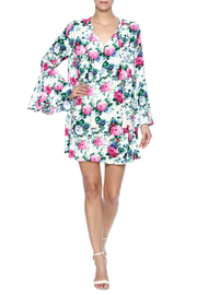 Umgee USA Floral Dress - Front full body
