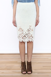 Umgee USA Lace Front Skirt - Side cropped