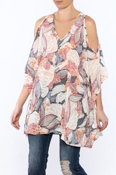 Umgee USA Lightweight Floral Tunic Top - Product List Image