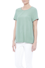 Umgee USA Pleated Tee - Product Mini Image
