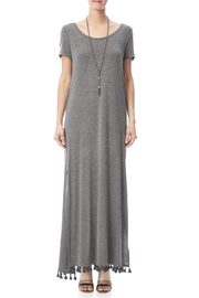 Umgee USA Side Split Maxi Dress - Front cropped
