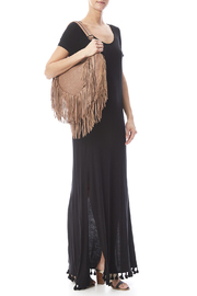 Umgee USA Side Split Maxi Dress - Front full body
