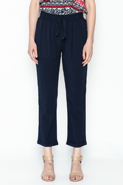 Umgee USA Waist Tie Pant - Front full body