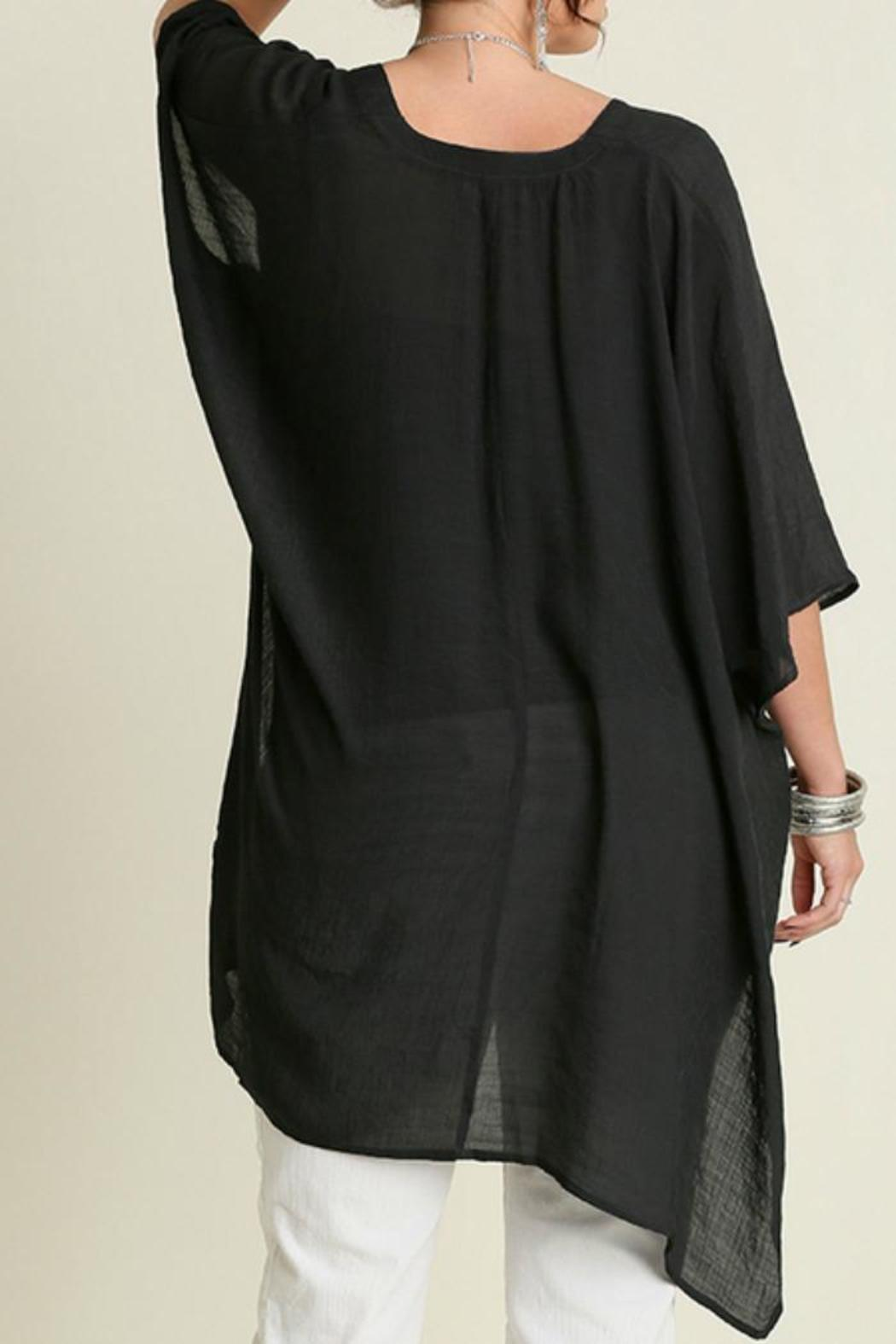 82993dc5ac3907 Umgee USA V-Neck Caftan from Franklin by Adalees — Shoptiques