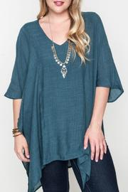 Umgee USA V-Neck Caftan - Product Mini Image