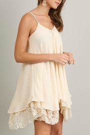 Umgee USA A-Line Dress - Front full body