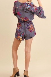 Umgee USA Abstract Floral Romper - Other