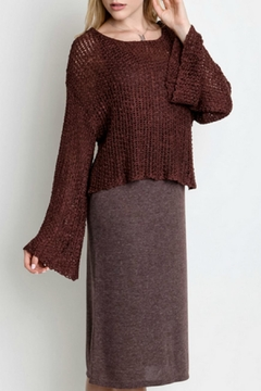 Shoptiques Product: All-In-One Sweater Dress