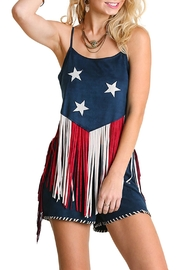 Umgee USA American Fringe Top - Product Mini Image