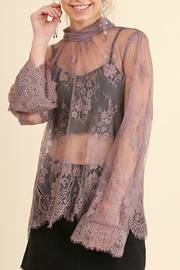 Umgee USA Angel Sleeve Lace - Front cropped