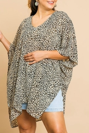 Umgee USA Animal Print Tunic - Product Mini Image