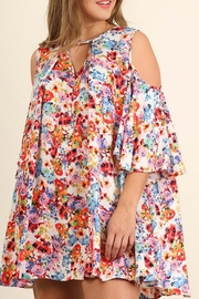 Umgee USA Artsy Floral Print - Front cropped