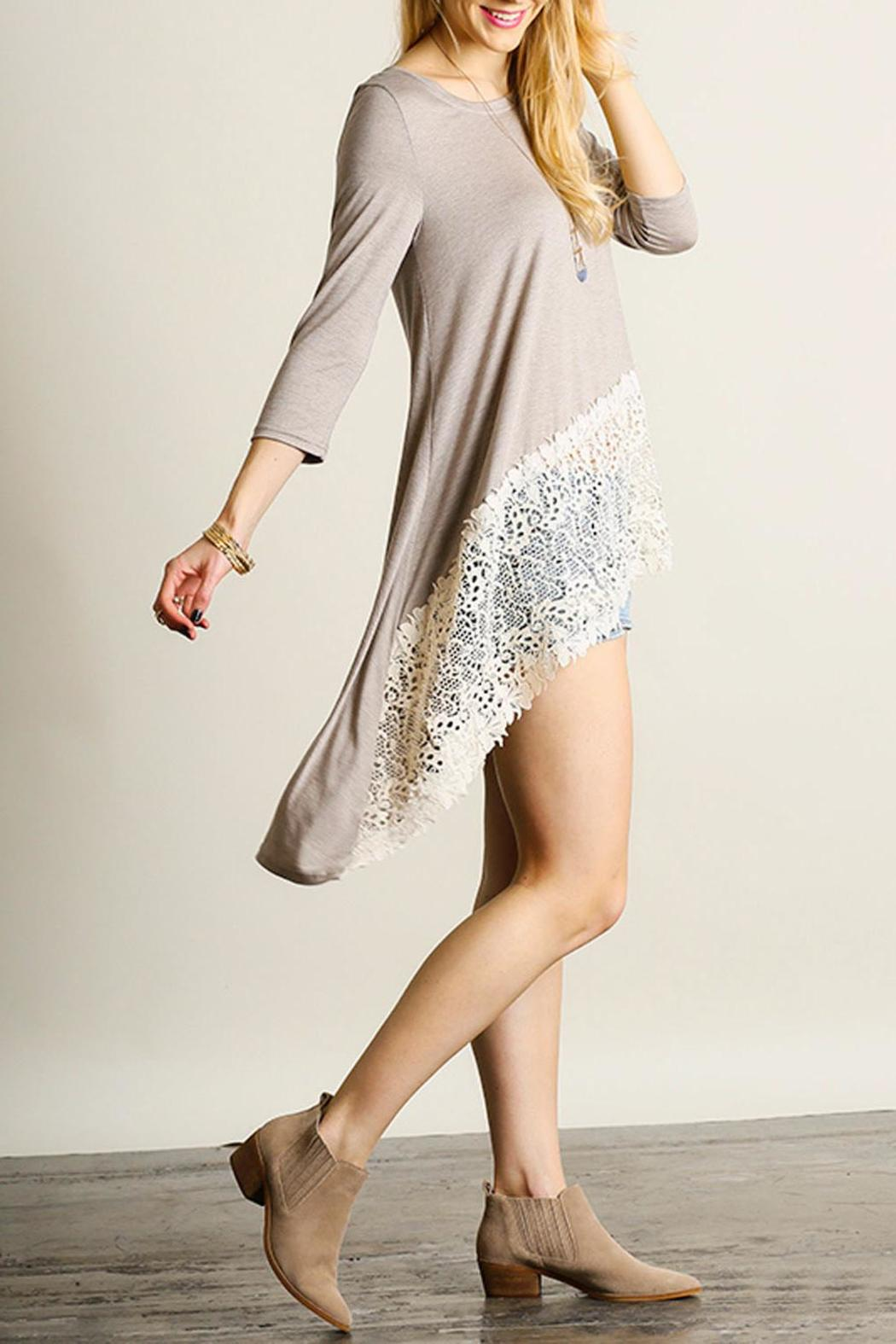 Umgee USA Asymmetric Top - Front Full Image