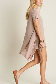 Umgee USA Asymmetrical Tunic - Front cropped