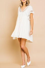 Umgee USA Babydoll Crochet Dress - Product Mini Image