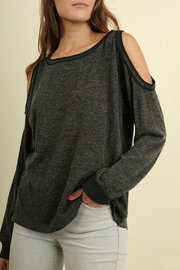 Umgee USA Basic Long Sleeve Top - Product Mini Image