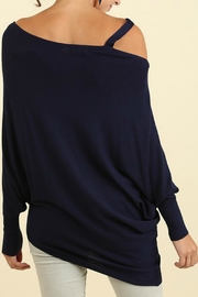 Umgee USA Batwing Sleeve Top - Side cropped