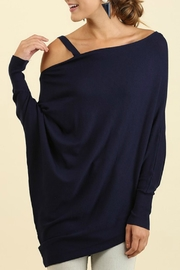 Umgee USA Batwing Sleeve Top - Product Mini Image