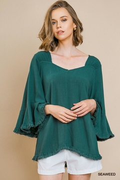 Shoptiques Product: Bell Ruffle Sleeve