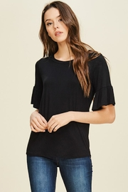 annabelle Bell Sleeve Blouse - Front cropped