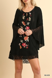 Umgee USA Bell Sleeve Dress - Product Mini Image
