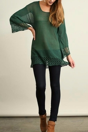 Umgee USA Bell Sleeve Sweater - Product Mini Image