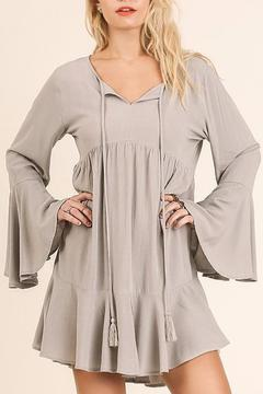 Shoptiques Product: Bell Sleeved Peasant Dress