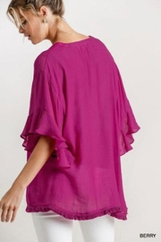 Umgee USA Berry Fiz Top - Front full body