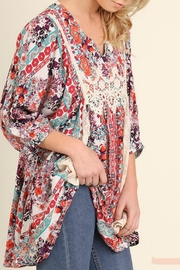 Umgee USA Berry Mix Blouse - Product Mini Image