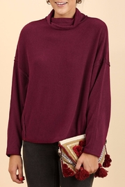 Umgee USA Berry Turtle Neck - Product Mini Image