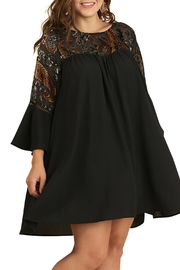 Umgee USA Black Detailed Dress - Product Mini Image